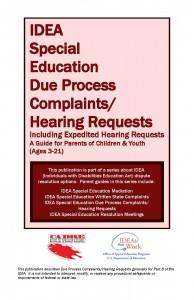 Due process parent guide