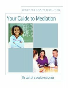 Guide to mediation